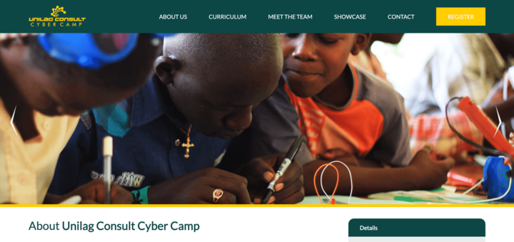 UNILAG Consult Cybercamp Website